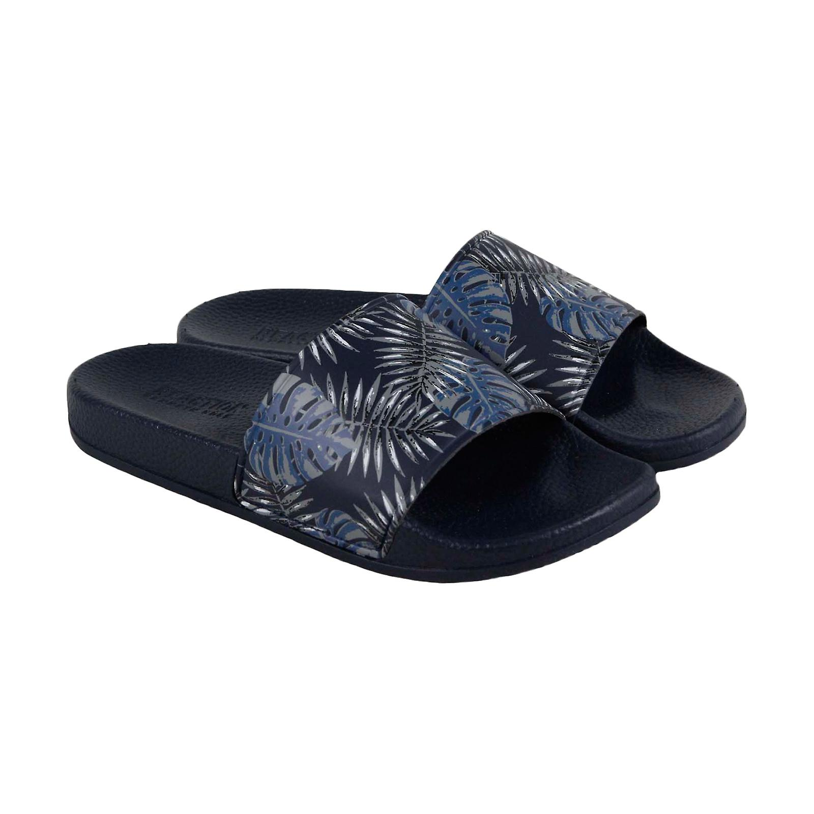 Kenneth Cole reaktio suunnittelu 2112692 Mens Blue Slidet Sandaalit kengät