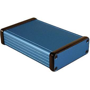 Hammond Electronics 1455J1201BU 1455J1201BU Universalgehäuse 120 x 78 x 27 Aluminium Blau 1 Stk.