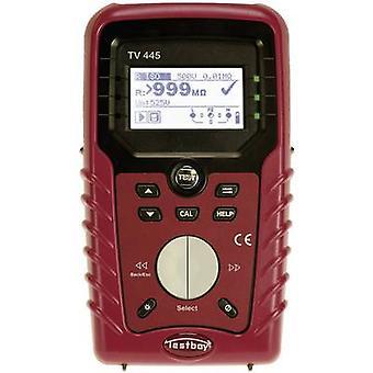 Testboy TV 445 Electrical tester DIN VDE 0100-600, OIL E8001, NIN/NIV