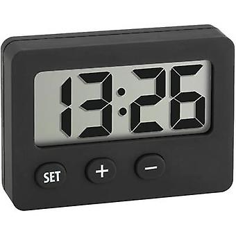TFA Dostmann 60-2013-01 Quartz Desk clock Black