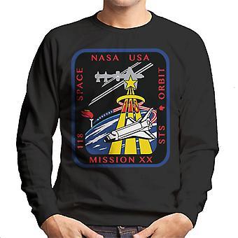 NASA STS 118 transbordador Endeavour misión parche camiseta de los hombres
