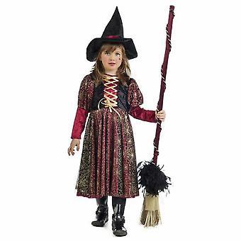 Sabrina heks girl kostyme trollkvinne magiker barn kostyme