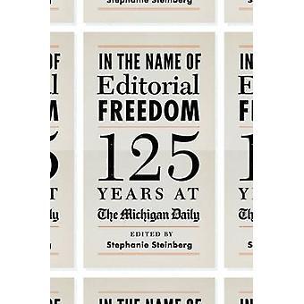 Frihedens redaktionelle - 125 år på Michigan dagligt af
