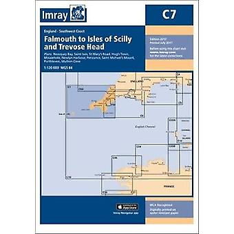 Imray Chart C7 - Falmouth to Isles of Scilly and Trevose Head by Imray