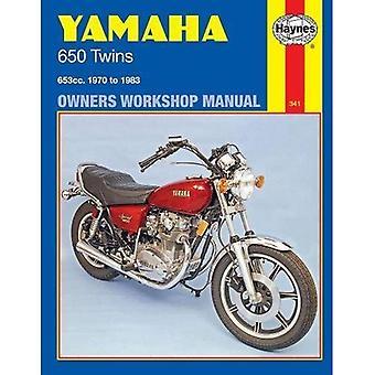Manuel d'atelier Yamaha 650 Twin propriétaires 1970-83 (manuels d'atelier Haynes propriétaires)