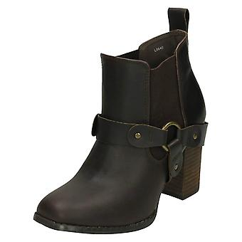 Ladies Coco Pull On casual Boots L8640