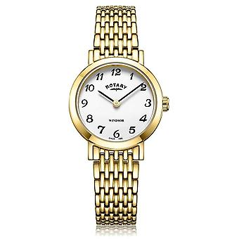 Rotary | Ladies Gold Plated Bracelet | LB05303/18 Watch