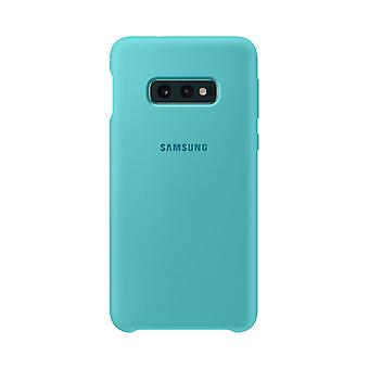 Samsung silicone cover green for Samsung Galaxy S10 plus G975F EF-PG975TGEGWW bag case protective cover