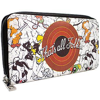 Looney Tunes questo è tutto gente! Bug & Daffy moneta & borsa frizione Card
