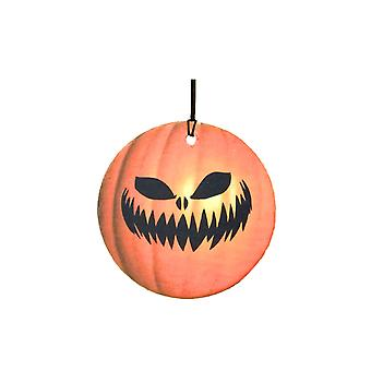 Scary Pumpkin Face Halloween Car Air Freshener