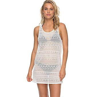 Roxy Womens Surf Memory Dress - Marshmallow White