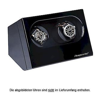 Augusta Uhrenbeweger for two watches black high-gloss finish 5569.221