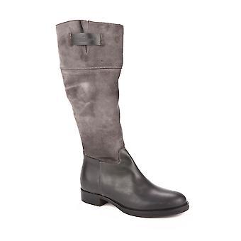 Etiqueta Negra Ezbc183028 Women's Grey Leather Boots
