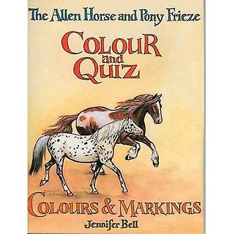 Das Allen-Pferd und Pony Frieze-Farbe und Quiz-Farbe und Markierung