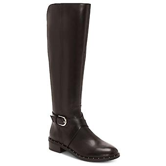 INC International Concepts Womens Fadoral Leather Round Toe Knee High Riding ...