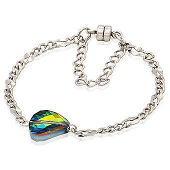 Alex And Ani Crystal Mirage Magnetic Bracelet - Rafaelian Silver