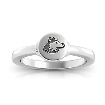 Northern Illinois University Engraved Sterling Silver Signet Ring