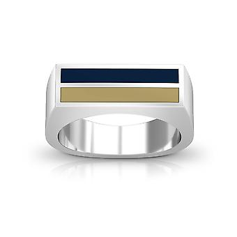 University of Pittsburgh Ring In Sterling Silver Design by BIXLER