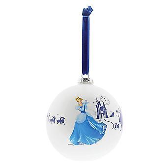 Disney Zauberhafte Kollektion 'Ein wunderbarer Traum' Cinderella Weihnachtskugel