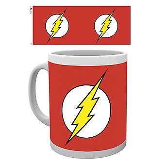 DC Comics Flash logotypen Boxed dricka mugg