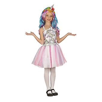 Unicorn Dress (Headpiece + Wig) (M)