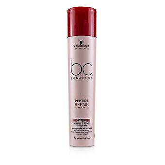 Schwarzkopf BC Bonacure Peptide Repair Rescue Deep Nourishing Micellar Shampoo (For Thick to Normal Damaged Hair) 250ml/8.5oz