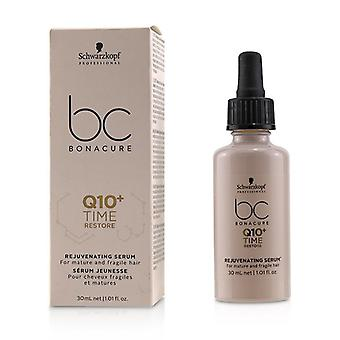Schwarzkopf BC Bonacure Q10+ Time Rejuvenating Serum (For Mature and Fragile Hair) 30ml/1.01oz
