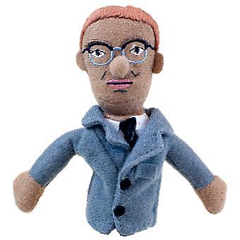 Finger Puppet - UPG - Malcolm X Mini Soft Plush Doll New 3916