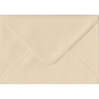 Cream Gummed Greeting Card Coloured Cream Envelopes. 100gsm FSC Sustainable Paper. 125mm x 175mm. Banker Style Envelope.