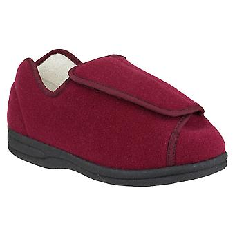 Mirak Womens Fife Touch Fästa Slipper Vin