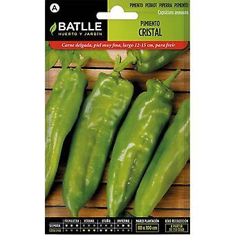 Batlle Crystal Pepper (Garden , Gardening , Seeds)