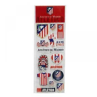 CyP Atlético De Madrid: Crystal Stickers