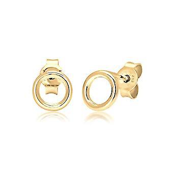 Elli Premium Orecchini a Perno da Donna Oro Giallo 0312690617