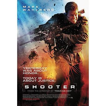 Shooter Original Movie Poster - Double Sided International
