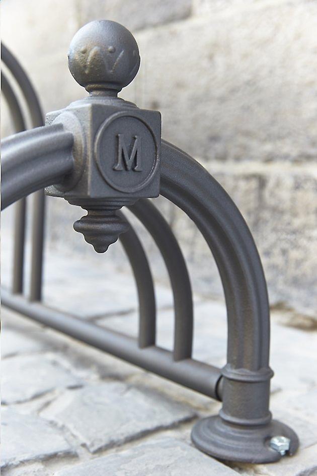 """Mottez - Fietsenrek """"Versailles II"""" black (5 fietsen)"""