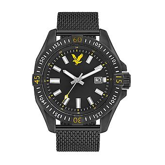 Lyle & Scott ls-6017-22 menn ' s taktisk svart Dial armbåndsur