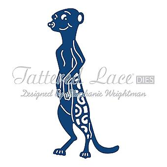 Meerkat: Tattered Lace Metal Die paperi kortti Stephanie Weightman