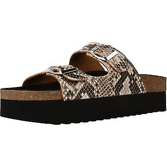 Yellow Sandals Pole Snake Color Boataupe