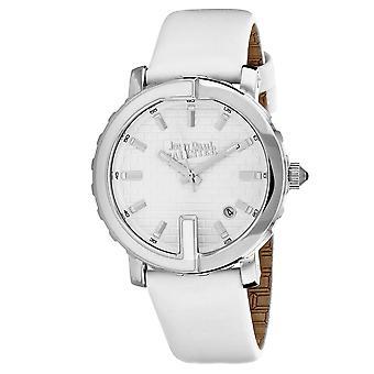 Jean Paul Gaultier Damen's klassische weiße Zifferblatt Uhr - 8500506