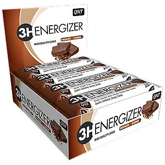 QNT Energizer Bar 3 Hours Of Sustained Energy Flow Snack (Chocolate) 15 X 80g