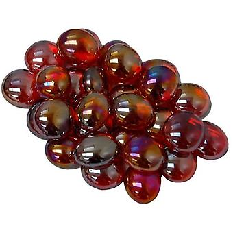 Gaming Stone Colors Crystal Red Iridized