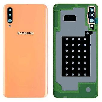 Samsung GH82-19467D Battery Cover Cover for Galaxy A70 A705F Orange Spare Part