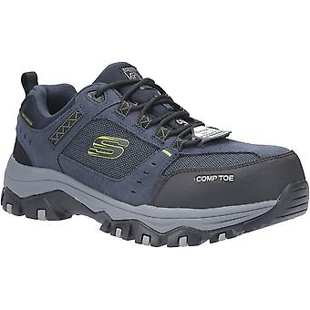 Skechers Mens Greetah Lace Up Hiker with Composite Toe