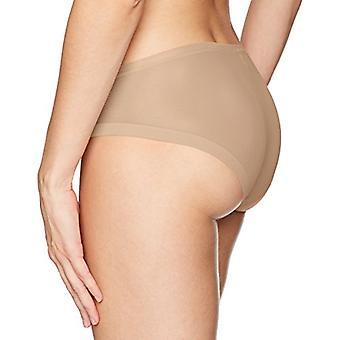 Calvin Klein kvinnor ' s skulpterade Bikini, Nakna, stora, Nakna, storlek Large