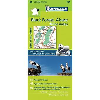 Black Forest Alsace Rhine Valley  Zoom Map 131 by Michelin