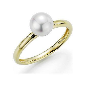 Yana Nesper Women's Ring 750gg Akoya white 7-7.5mm Akoya Premiums Bubbles