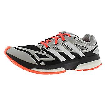 Kids Adidas Boys response boost techfit Fabric Low Top Lace Up Walking Shoes