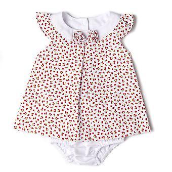 Baby Globe flickor klänning tofsar