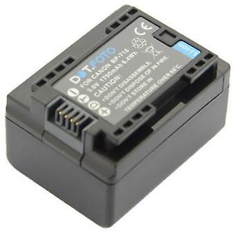 Dot.Foto BP-718 PREMIUM Wymiana akumulatora kamery (100% KOMPATYBILNY) dla Canon - 3.6v / 1790mAh [Patrz opis zgodności]