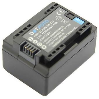 Dot.Foto BP-718 PREMIUM Batería de videocámara recargable de reemplazo (100% COMPATIBLE) para Canon - 3.6v / 1790mAh [Consulte Descripción para compatibilidad]